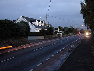 R405 road (Ireland) - Image: Evening Traffic on Maynooth Road geograph.org.uk 1008096