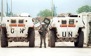 armed confrontation on 27 May 1995 between French UN peacekeepers and elements of the Army of Republika Srpska (VRS)