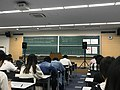 Examination Room in Tokyo University of Marine Science and Technology of EJU hold in June 2019.jpg
