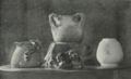"""Examples of Merric Boyd pottery in 1920 photographed by Pegg Clarke for """"The Home"""".png"""