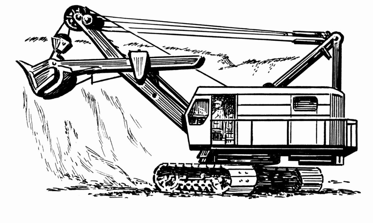 lanový bagr  wikipedie