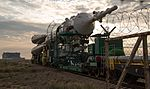 Expedition 48 Soyuz Rollout (NHQ201607040106).jpg