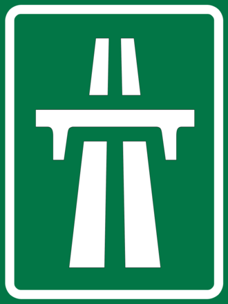 Road signs in Thailand - Image: Expressway logo