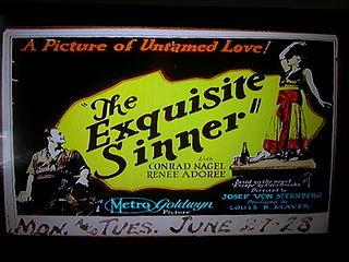 <i>The Exquisite Sinner</i> 1926 film