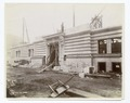 Exterior marble work - construction of the Forty-second Street entrance (NYPL b11524053-489444).tiff