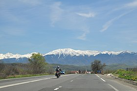 Făgăraș Mountains, Romania - View from Sibiu 04.jpg