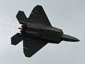 F-22 Raptor making a high speed pass (5232157463).jpg