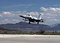 F-5N of VFC-13 lands at NAS Fallon in April 2015.JPG