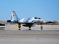 F-5N of VFC-13 taxis at NAS Fallon in March 2015.JPG