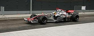 McLaren MP4-21 - Image: F1 car Mc Laren Mercedes 2006
