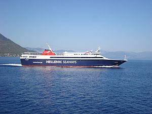 "Hellenic Seaways passenger ferry ""Artemis..."