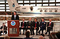 FEMA - 30124 - Admin. Paulison at podium during NOAA press conference.jpg
