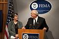 FEMA - 41142 - FEMA Administrator W. Craig Fugate with DHS Secretary Janet Napo.jpg
