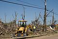 FEMA - 43883 - Utility Crews Clear Debris from Deadly Tornado in Yazoo City, Mi.jpg