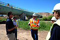 FEMA - 44638 - Officials at the damaged American Canal in California.jpg