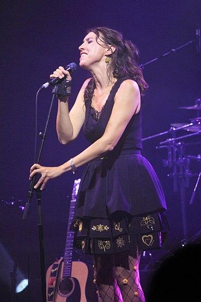 Concert de Gwennyn au festival interceltique de Lorient 2017, en première partie d'Amy Macdonald.