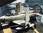 FJ-3M Fury of VF-94 on USS Hornet (CVA-12) 1958.jpg