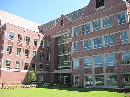 James E. King Life Sciences Teaching & Research Center FSU kingbuilding back.JPG