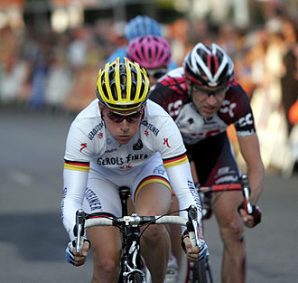 German National Road Race Championships -  Fabian Wegmann 2007 and 2008 champion