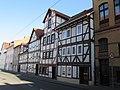 Fachwerkzeile in der Mangelgasse - Straßenseite zur Werra - Eschwege - panoramio.jpg