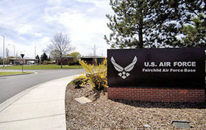 Fairchild Air Force Base - Entrance to Fairchild AFB in 2008