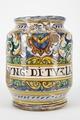 Fajans, apoteksburk, 1600-tal - Hallwylska museet - 90377.tif