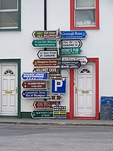 Far, far too much choice, Ballyvaughan-Baile ui Bheachain - geograph.org.uk - 1268283.jpg