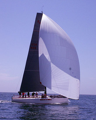 Farr Yacht Design - Farr 400 Rock and Roll sailing off Newport Beach California