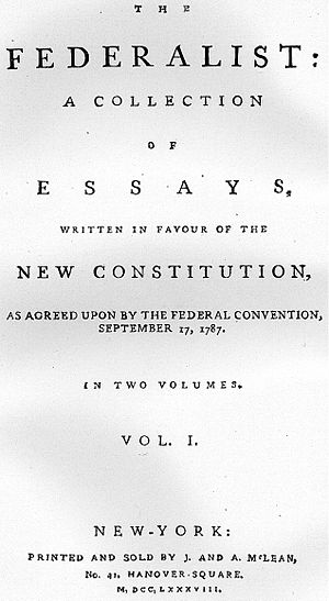 300px Federalist 1788 Federalist Paper Number 10 Then and Now