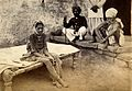Female patient with bubonic plague in Karachi, India. Photog Wellcome V0029288.jpg