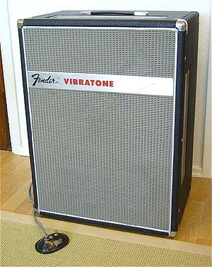 Leslie speaker - Fender Vibratone reissue of the Leslie 16