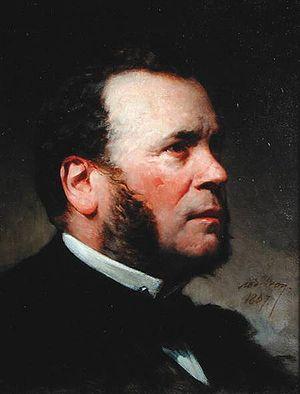Ferdinand Barrot - Ferdinand Barrot in 1867. Portrait by Adolphe Yvon