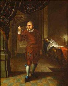 Ferdinand Fleck als Macbeth (Quelle: Wikimedia)