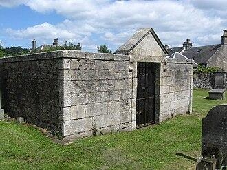 Sir William Fergusson, 1st Baronet - Burial vault of William Fergusson in St. Andrews Kirkyard at West Linton