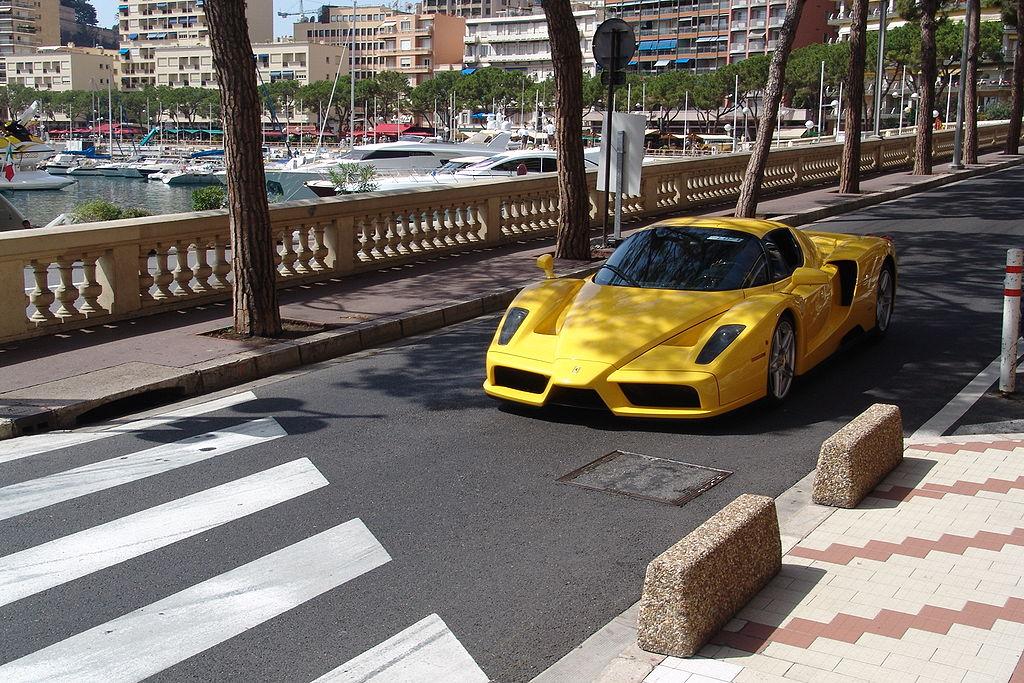 File Ferrari Enzo In Monaco Jpg Wikimedia Commons