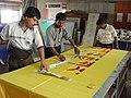 Festival Of India Exhibition In Bhutan 2003 Preparations - NCSM - Kolkata 2003-09-06 00133.JPG