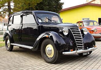Fiat 1100 (1937) - 1948 Fiat 1100 BL Tassì