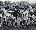 Finale du championnat de France de rugby 1946 Pau-Lourdes au Parc des Princes.jpg