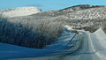 Finnish national road 21 & Saana, Ala-Kilpisjärvi.JPG