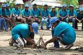 Fire-making - Survival Programme - Summer Camp - Nisana Foundation - Sibpur BE College Model High School - Howrah 2013-06-09 9689.JPG