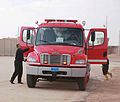 Fire engine in Iraq.JPG