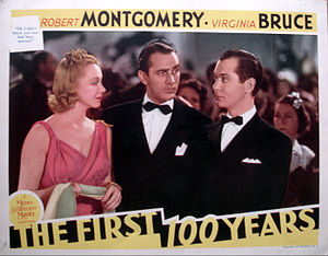 The First Hundred Years (film) - Lobby card