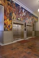 First floor WPA mural at Lobby elevator, U.S. Courthouse, Albuquerque, New Mexico LCCN2013634308.tif