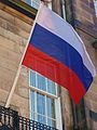 Flag at Russian Consulate-General in Edinburgh.jpg