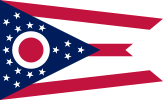 Flag of Ohio (July 10, 1902)