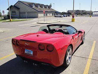 Chevrolet Corvette (C6) - Chevrolet Corvette convertible