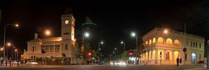 Flinders Street, Townsville (night)