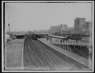 Flinders Street railway station - Flinders Street Station, 1895