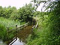 Flooded bridge Big water - geograph.org.uk - 476330.jpg