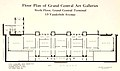 Floor plan of Grand Central Art Galleries circa 1923, New York, New York.jpg